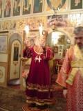 Highlight for Album: Пасха Христова, г. Одесса, архиепископ Лазарь совершает пасхальное богослужение
