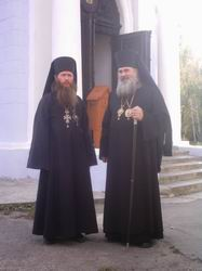 Архиепископ Тихон и Архиепископ Вениамин