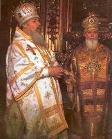 Алексий Ридигер и Филарет Денисенко