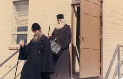 Митрополит Филарет (Вознесенский) и Архиепископ Аверкий (Таушев), 1965 г.