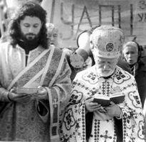 Владимир Ярема и Олег Кулик