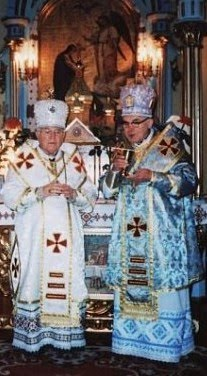 Михаил Осидач и Василий Иосафат Ковацив