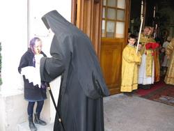 17.Встреча Вл. Тихона в Лионе перед Божественной Литургией