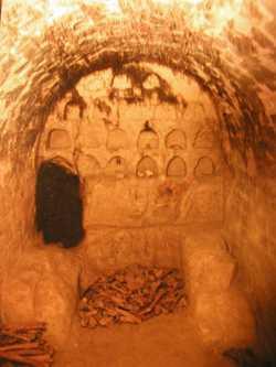 Пещеры на Церковщине в Киеве