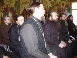 Собрание духовенства и клириков Омско-Сибирской Епархии Русской Истинно-Православной Церкви