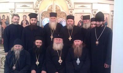 Делегации Синодов РИПЦ и ИПЦ Греции
