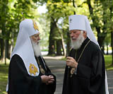 Филарет Денисенко и Владимир Сабодан