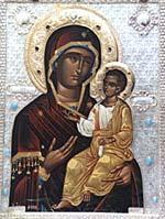 Монреальская Мироточивая Чудотворная Икона Божией Матери